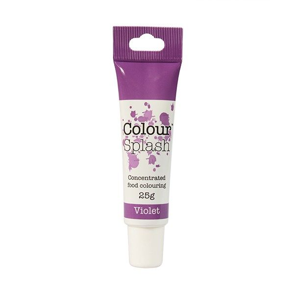 COLOUR SPLASH: COLOUR-CSP-GEL-VIOLET-25g