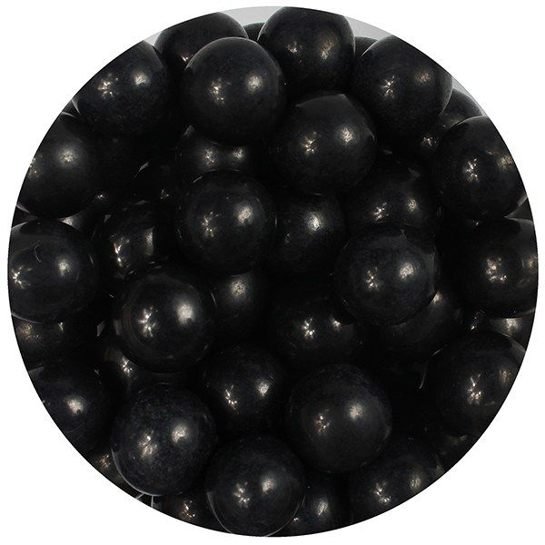 Purple Cupcakes 10mm Pearls - Black - 80g