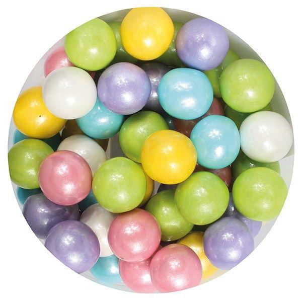 Purple Cupcakes 10mm Pearls - Rainbow - 80g