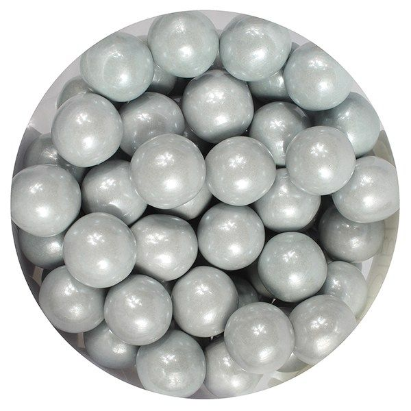 Purple Cupcakes 10mm Pearls - Silver - 80g. 25056