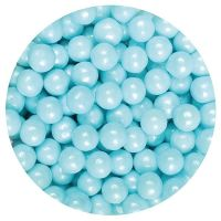 25045  Purple Cupcakes 7mm Pearls - Blue - 90g