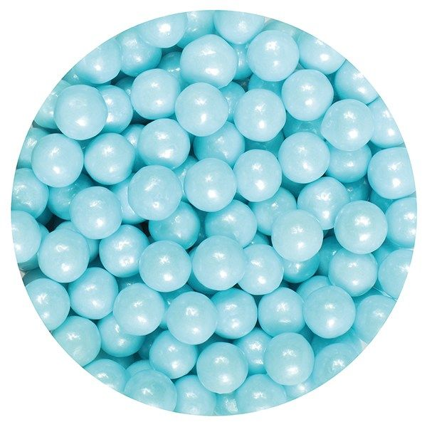 Purple Cupcakes 7mm Pearls - Blue - 90g