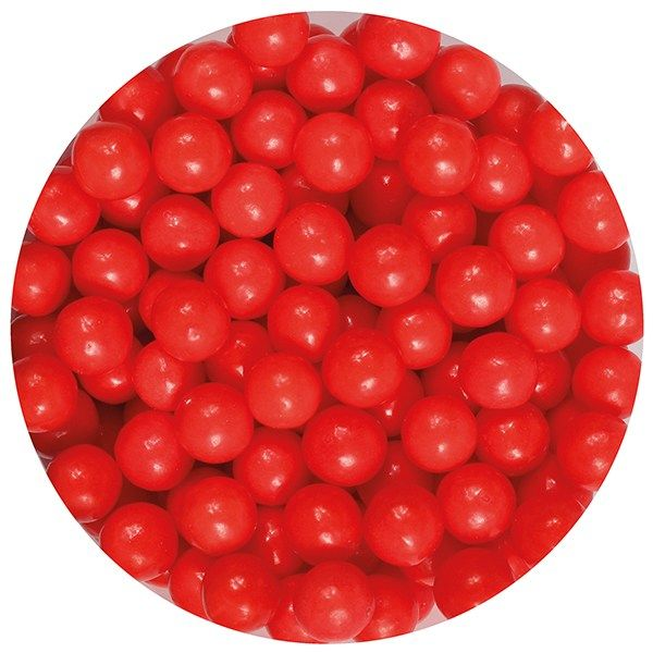 Purple Cupcakes 7mm Pearls - Red - 90g