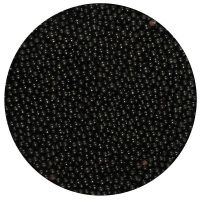 25011  Purple Cupcakes Nonpareils - Black - 100g