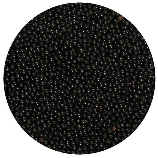 Purple Cupcakes Nonpareils - Black - 100g