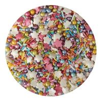 25110  Purple Cupcakes Rainbow Mix - 100g