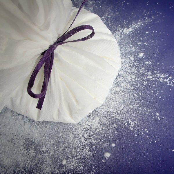 Purple Cupcakes Cornflour Pouch