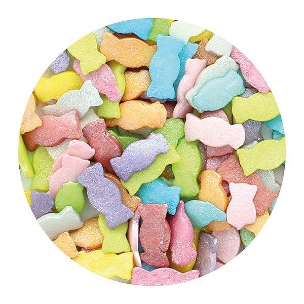 Purple Cupcakes - Rainbow Multi Sweets - 60g