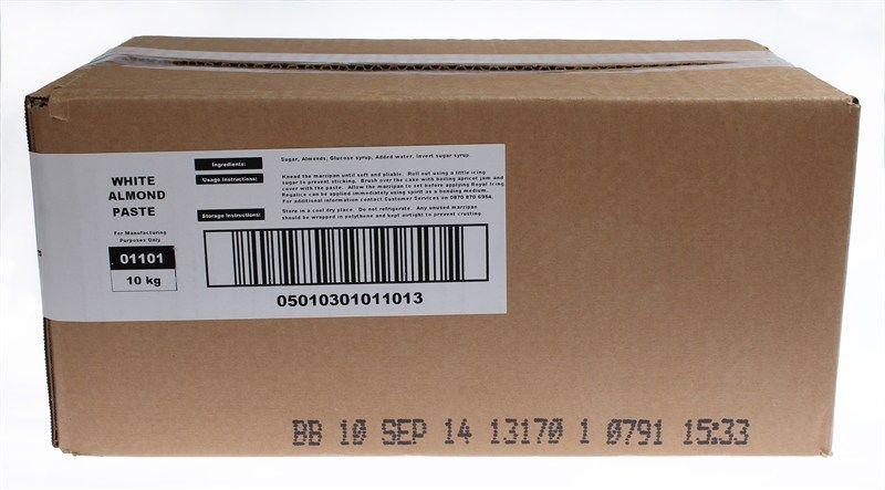 EDIBLE-RENSHAW-MARZ-NO PRESV-WHITE-10kg