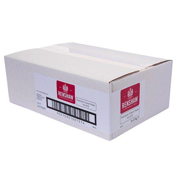 EDIBLE-RENSHAW-PRM COV PST-WHITE-2x2.5kg