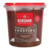5814  EDIBLE-RENSHAW-FROSTING-CHOCOLATE-400g - PACK OF 4