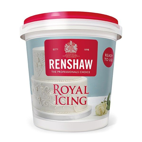 EDIBLE-RENSHAW-ROYAL ICING-400g-4PK