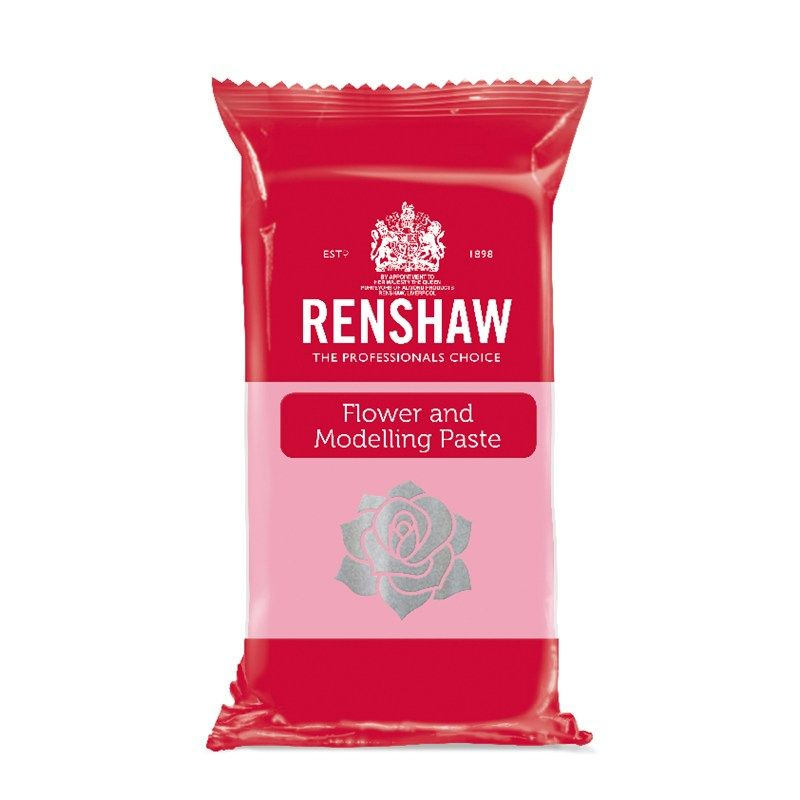EDIBLE-RENSHAW-F&M PASTE-ROSE PNK-250g