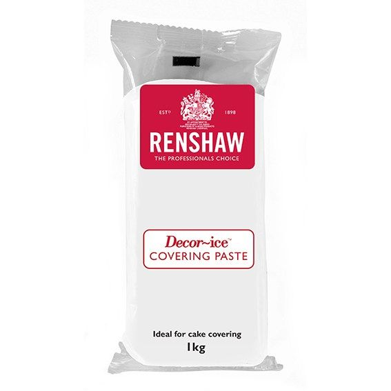 EDIBLE-RENSHAW-COVER PASTE-WHITE-1kg