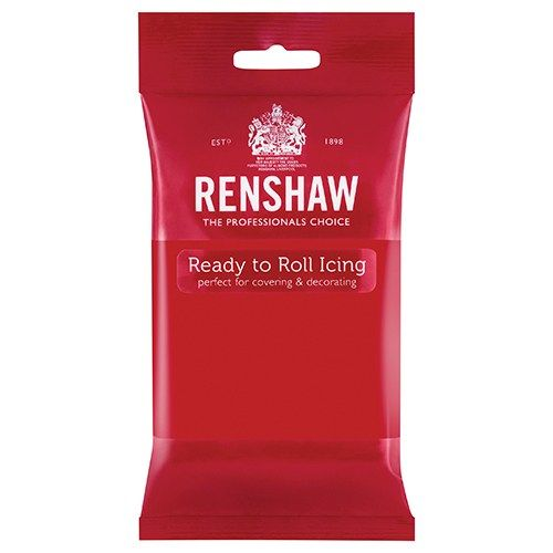 EDIBLE-RENSHAW-PROF SP-POPPY RED-250g