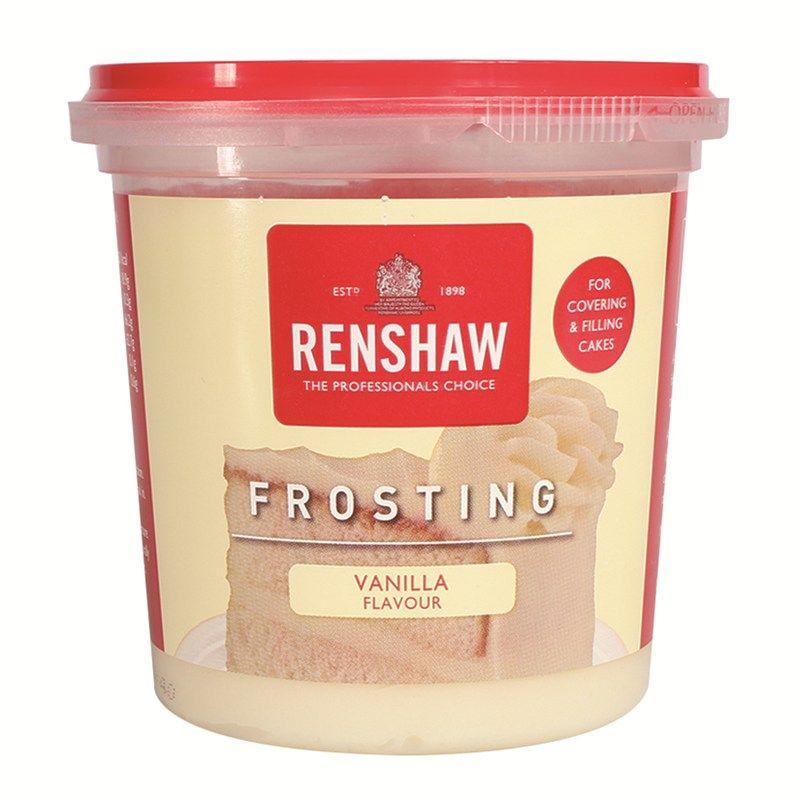 Renshaw Frosting - Vanilla - 400g - Single. 605813