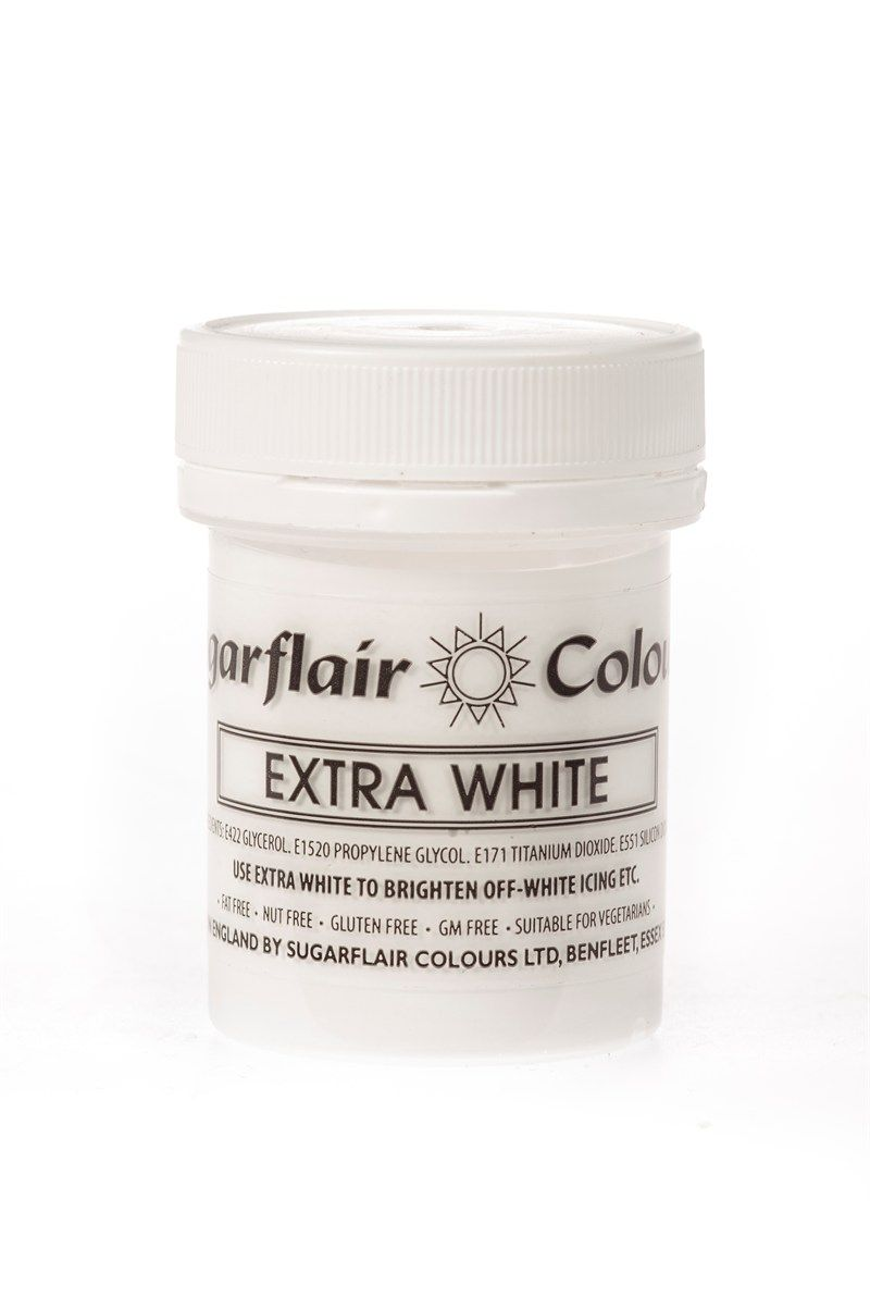 COLOUR-SUGARFLAIR-EXTRA WHITE-50g