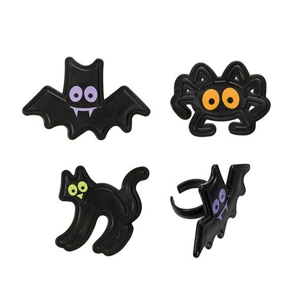 Sugarflair Assorted Halloween Character Rings - 144 / Bag. 5274DP