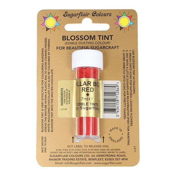 SUGARFLAIR: COLOUR-BLOSSOM TINT-PILLAR BOX RED-7ml