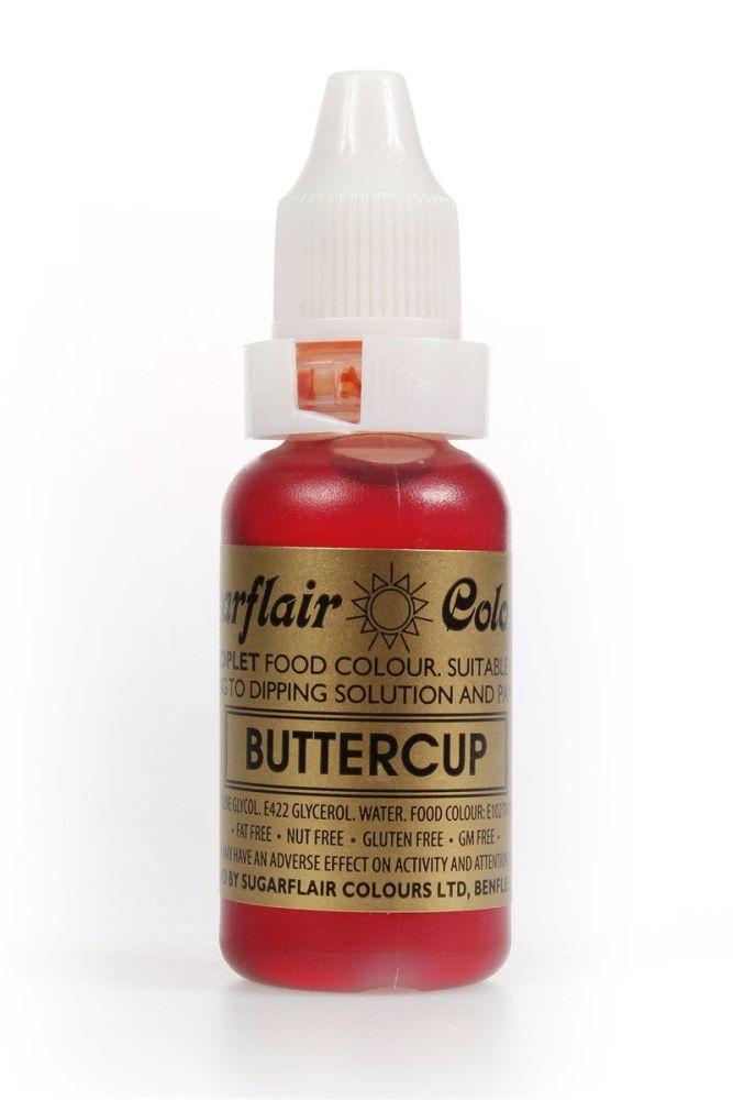 Sugarflair Sugartint Droplet Buttercup. 5364