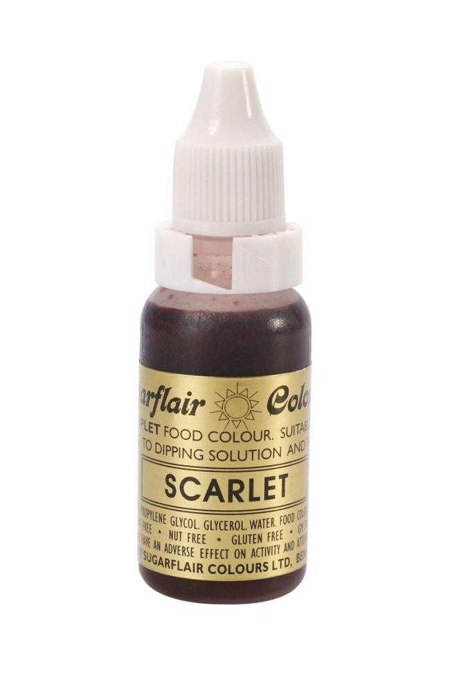 Sugarflair Sugartint Droplet Colour - Scarlet. 5376
