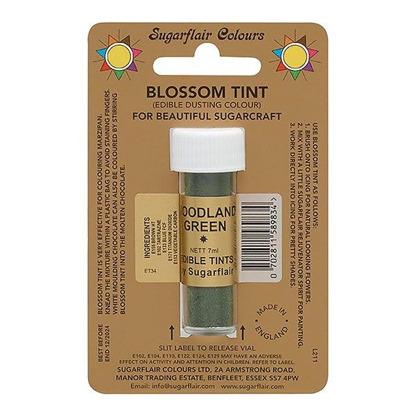 SUGARFLAIR: COLOUR-BLOSSOM TINT-WOODLAND GREEN-7ml