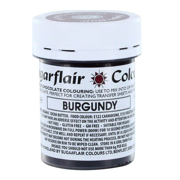 COLOUR-SUGARFLAIR-CHOC-BURGUNDY-35g