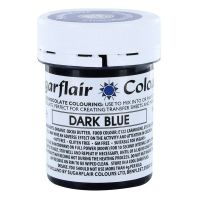 53784  COLOUR-SUGARFLAIR-CHOC-DARK BLUE-35g