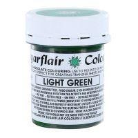 53789  COLOUR-SUGARFLAIR-CHOC-LIGHT GREEN-35g