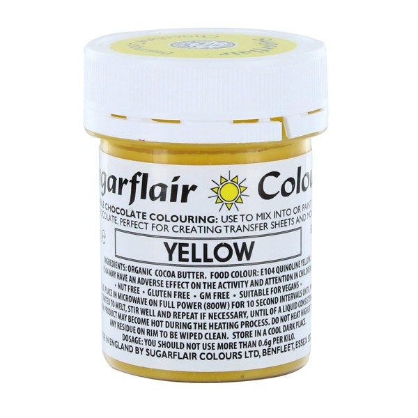 COLOUR-SUGARFLAIR-CHOC-YELLOW-35g