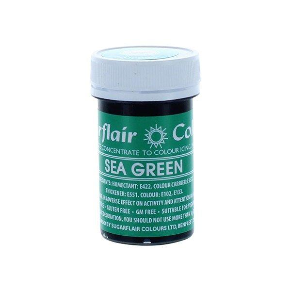 SUGARFLAIR: COLOUR-SPECTRAL PASTE-SEA GREEN-25g