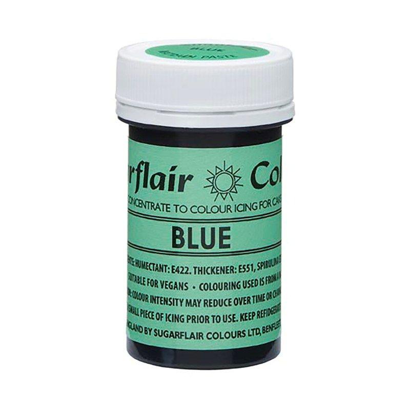 SUGARFLAIR: COLOUR-NATRADI PASTE CONCENTR-BLUE-25g