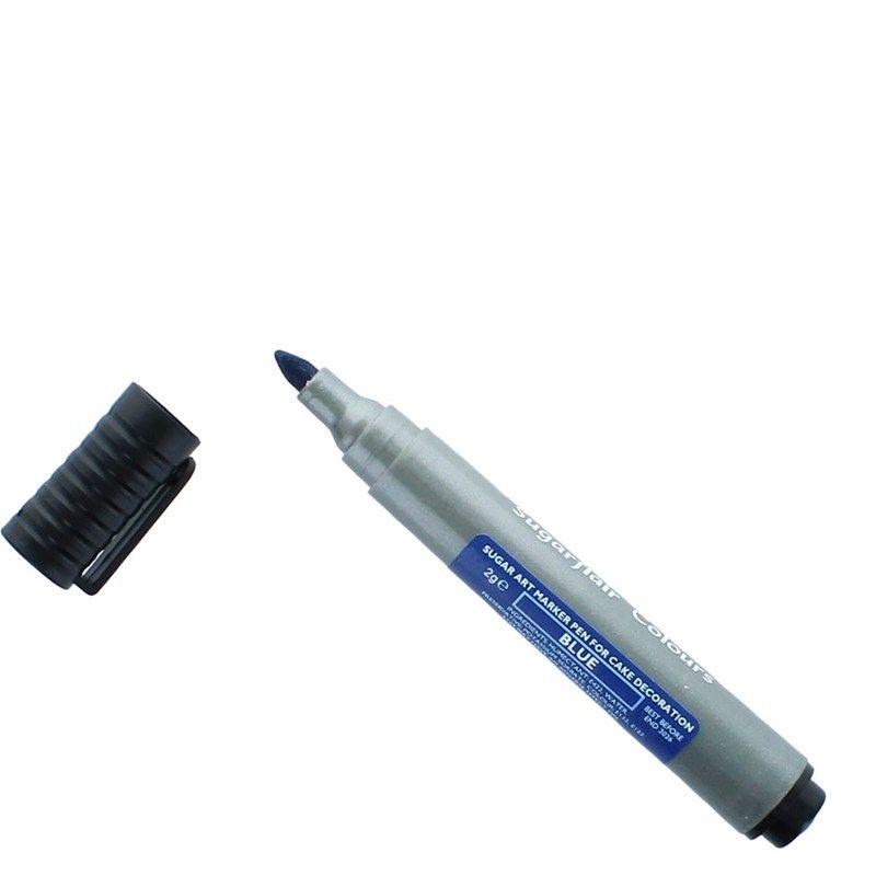COLOUR-SUGARFLAIR-EDIBLE MARKER PEN-BLUE