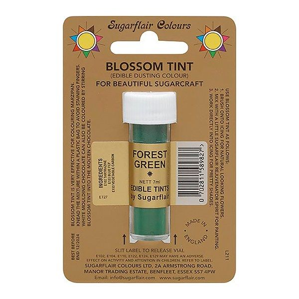 SUGARFLAIR: COLOUR-BLOSSOM TINT-FOREST GREEN-7ml