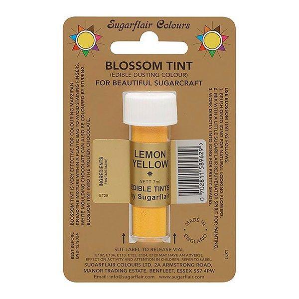 SUGARFLAIR: COLOUR-BLOSSOM TINT-LEMON YELLOW-7ml