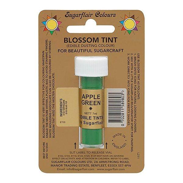 SUGARFLAIR: COLOUR-BLOSSOM TINT-APPLE GREEN-7ml