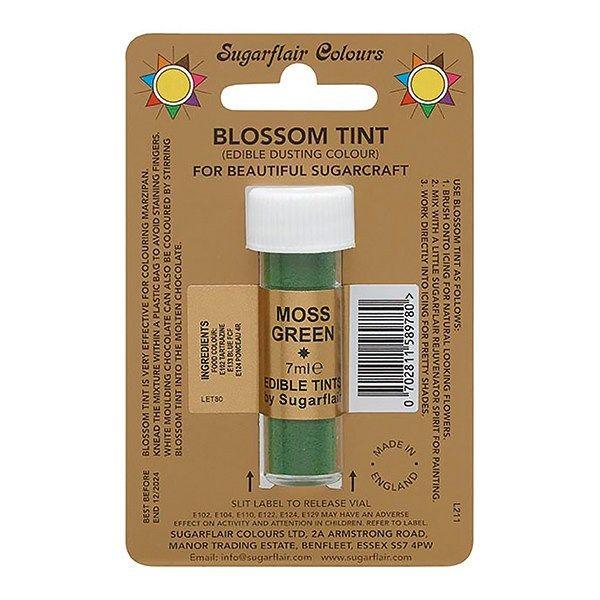 SUGARFLAIR: COLOUR-BLOSSOM TINT-MOSS GREEN-7ml