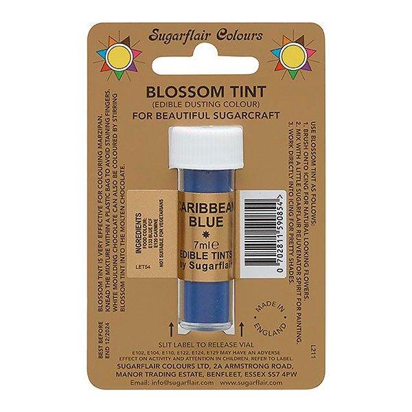 SUGARFLAIR: COLOUR-BLOSSOM TINT-CARIB BLUE-7ml