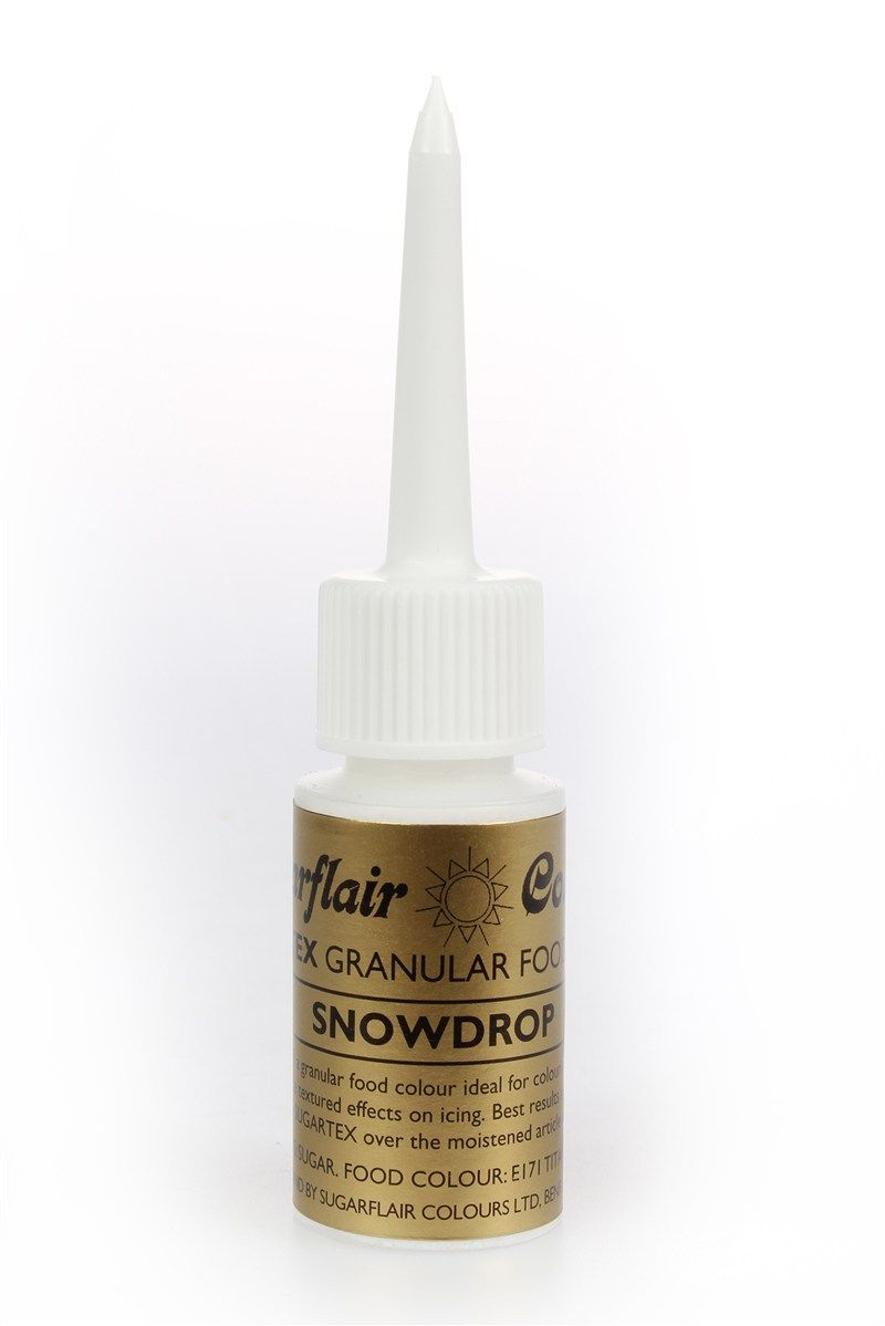 COLOUR-SUGARFLAIR-SUGARTEX-SNOWDROP-14g