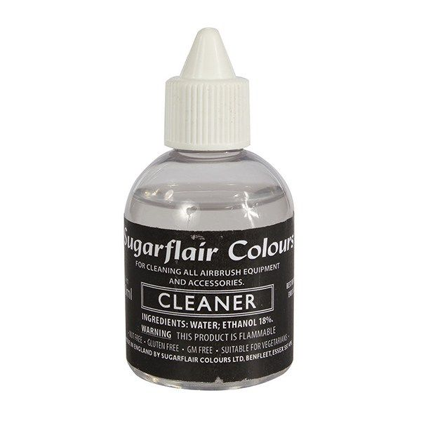 SUGARFLAIR: NON EDIBLE-SUGARFLAIR-AIRBRSH-CLNER-60ml