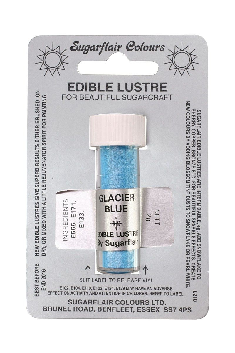 COLOUR-SUGARFLAIR-LUSTRE-GLACIER BLUE-2g
