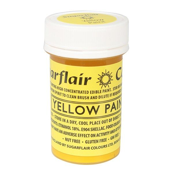 EDIBLE-SUGARFLAIR-PAINT-YELLOW-20g