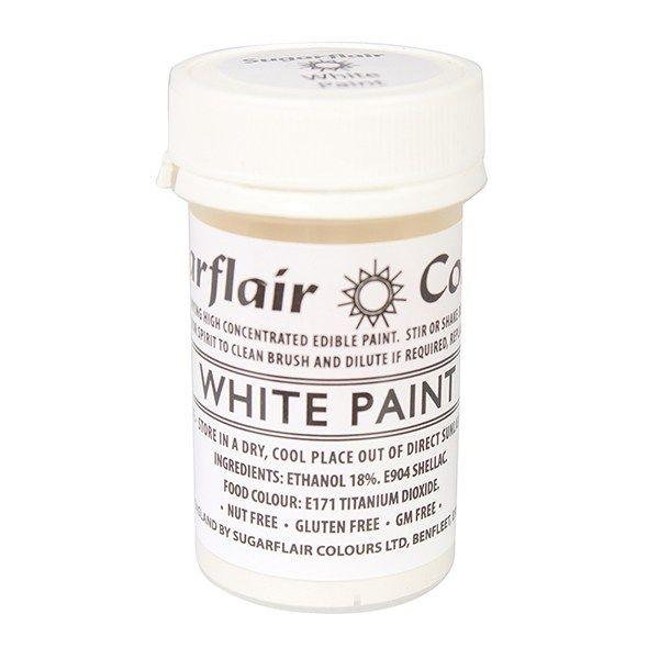 EDIBLE-SUGARFLAIR-PAINT-WHITE-20g