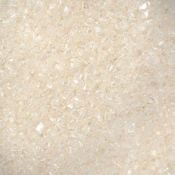 Sugarflair - White Sparkling Sugar - 100g. 54552