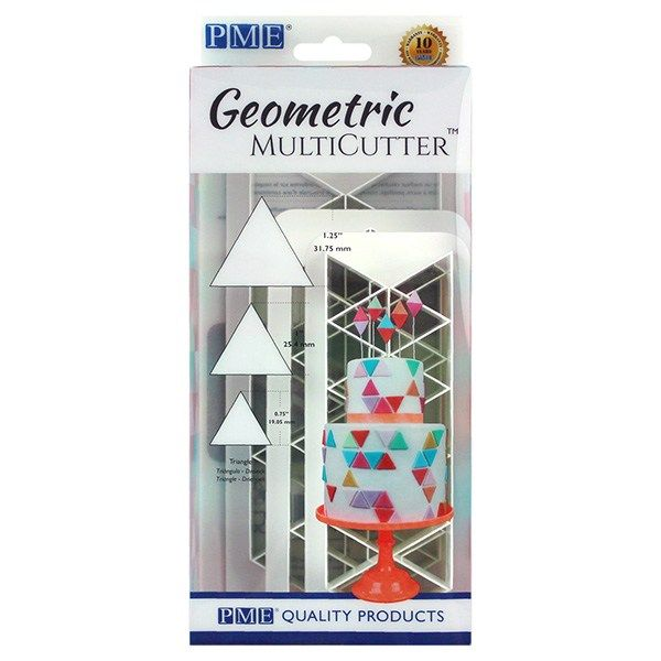 CUTTER-PME-GEO MULTI-TRIANGLE-3 SET