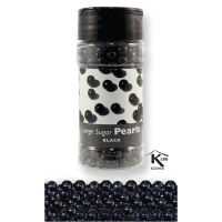 800678  EDIBLE-PME-SUG PEARLS-BLACK-7mm-99.22g