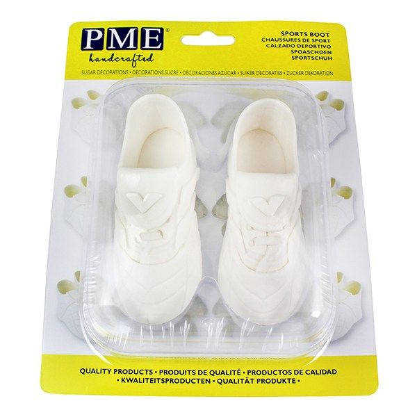EDIBLE-PME-FOOTBALL BOOTS-WHITE-100x40mm
