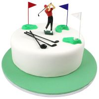 800722  FIGURINE-PME-GOLF SET-13PCE