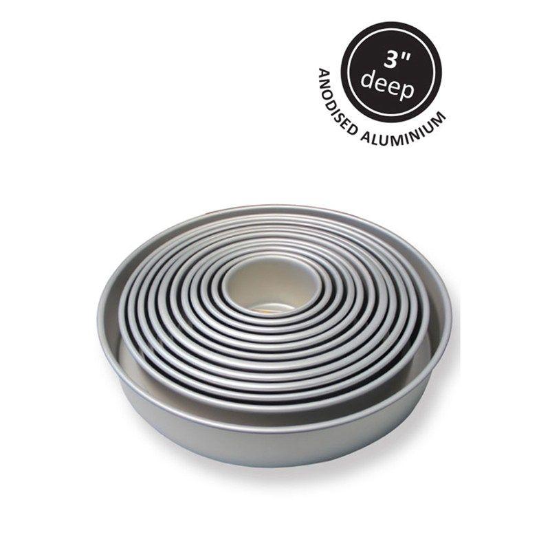 "PME: Round Cake Tin 10"" x 2"" (254mm x 50mm). 800830"