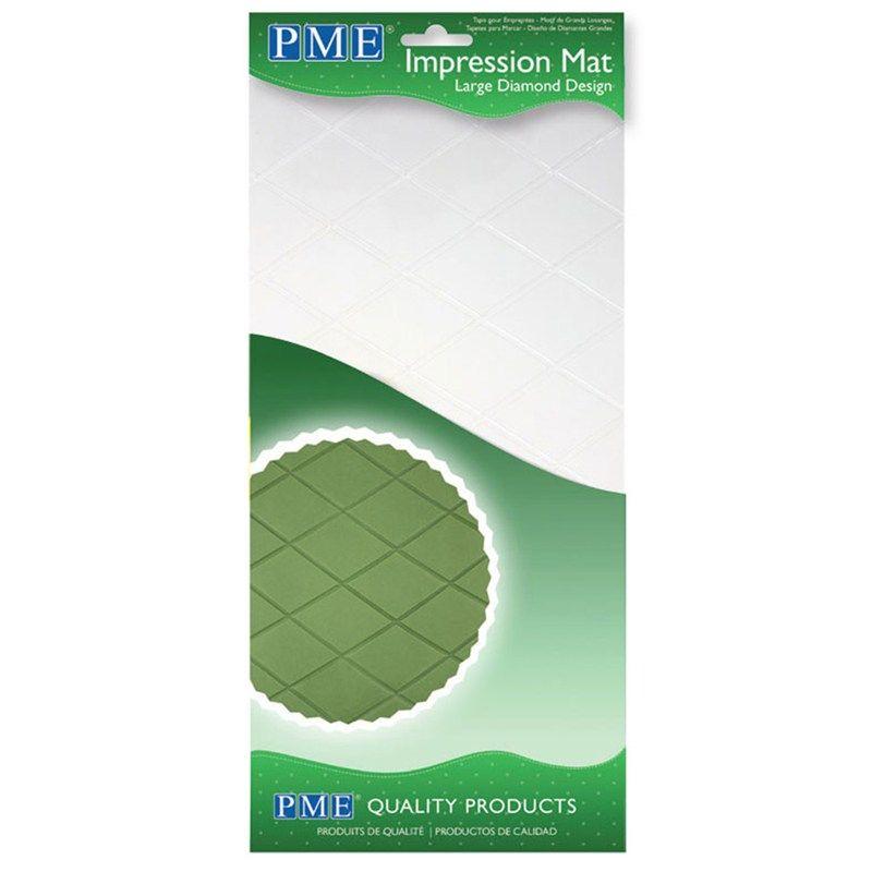 TOOL-PME-IMPRN MAT-LG DIAMOND-150 x305mm